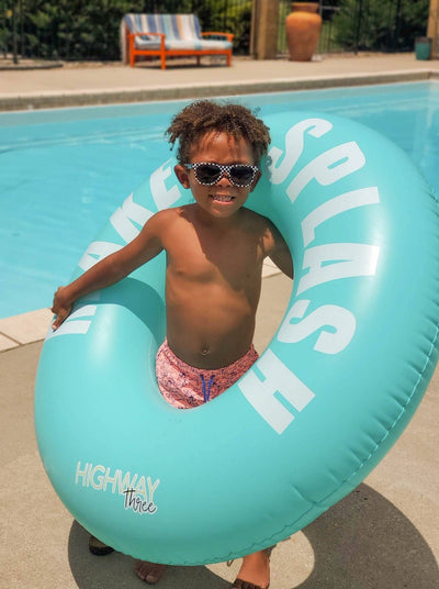 MAKE A SPLASH POOL FLOAT