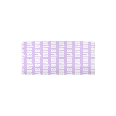 PERSONALIZED MODERN REPEAT CHANGING PAD COVER - BOLD