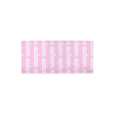PERSONALIZED MODERN REPEAT CHANGING PAD COVER - RETRO CURSIVE