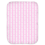 PERSONALIZED LIGHTWEIGHT SWADDLE BLANKET - BOLD