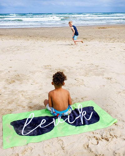 SUNNY DAYS PERSONALIZED TOWEL