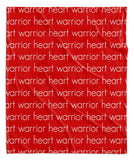 HEART WARRIOR BLANKET