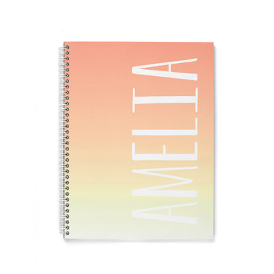OMBRE SPIRAL NOTEBOOK