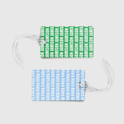 PERSONALIZED LUGGAGE TAG - BOLD