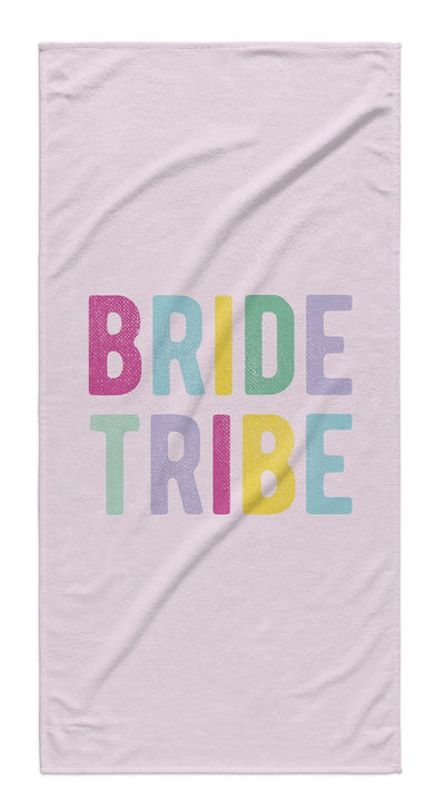 BRIDE TRIBE COLORFUL TOWEL