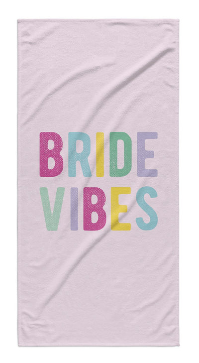BRIDE VIBES TOWEL