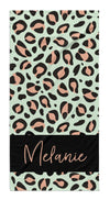 LEOPARD BAND PERSONALIZED TOWEL