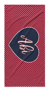 PERSONALIZED AMERICA BEACH TOWEL