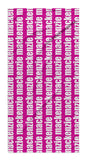 PERSONALIZED REPEAT BEACH TOWEL - BOLD