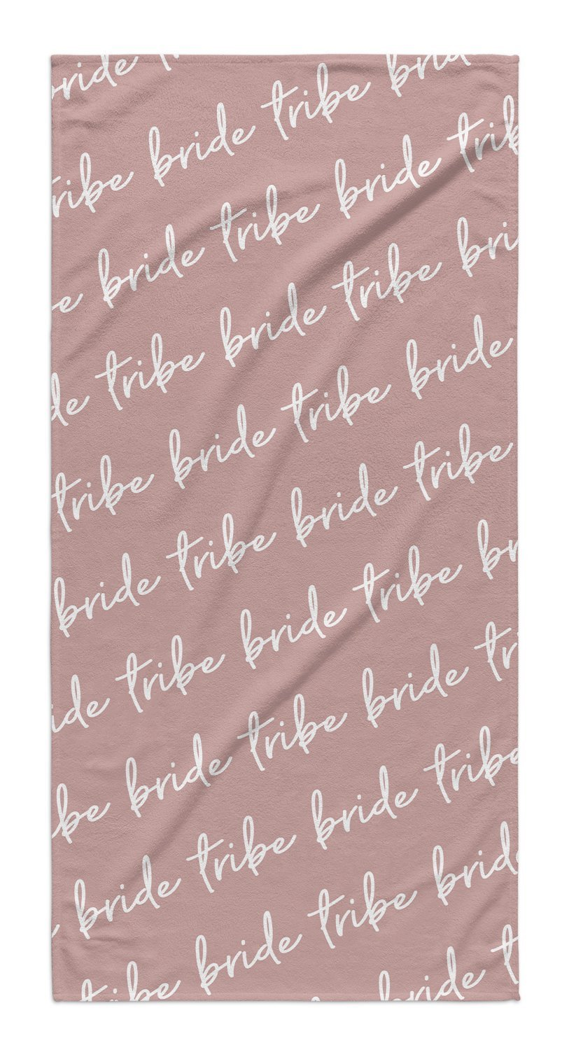 BRIDE TRIBE CURSIVE TOWEL