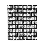 PERSONALIZED PET NAME BLANKET - BOLD (ALL COLOR OPTIONS)