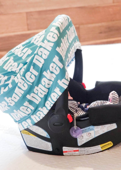 CAR SEAT OR NURSING COVER - BOLD
