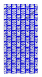 FATHER'S DAY PERSONALIZED REPEAT BEACH TOWEL - BOLD