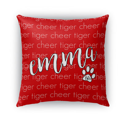 TEAM - CURSIVE PERSONALIZED NAME PILLOW SHAM