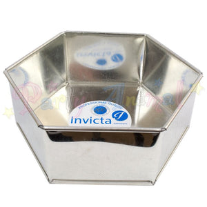 "10"" Hexagonal Invicta Professional Cake Tin"