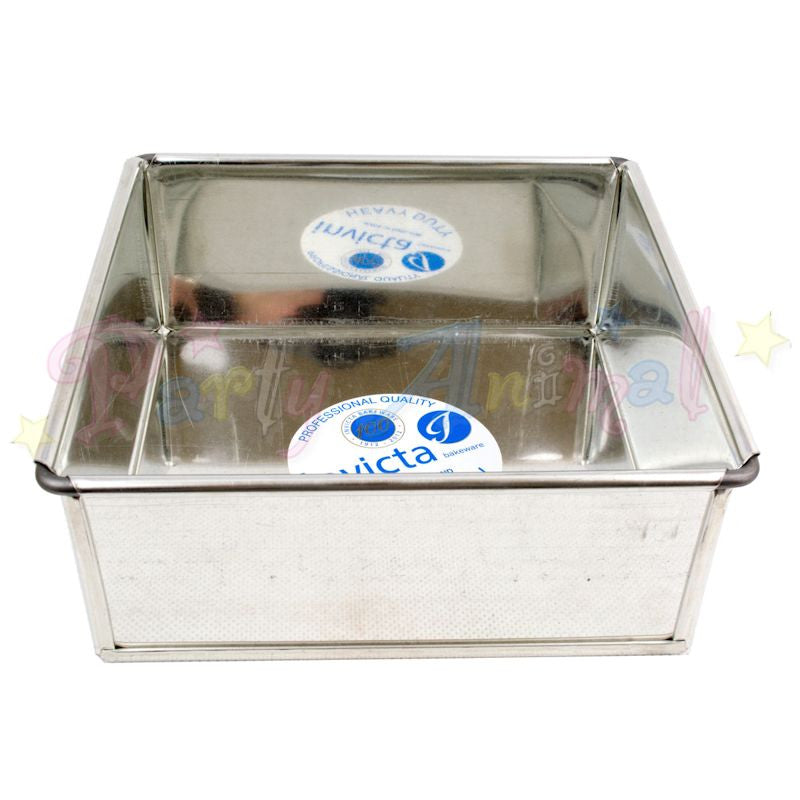 "10"" Square Invicta Professional Cake Tin"
