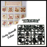 Patchwork Cutters 12 (TWELVE) DAYS OF CHRISTMAS CUTTERS SET - Partyanimalonline