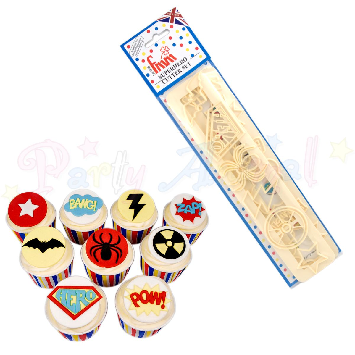 FMM Superhero Cutter Set