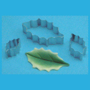 PME Holly Leaf Cutters Set of 3