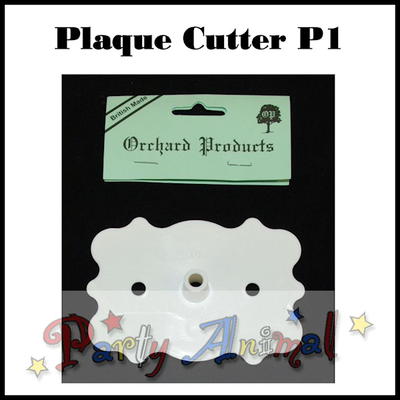 Orchard Products Plaque Cutter P1 FANCY - 106mm