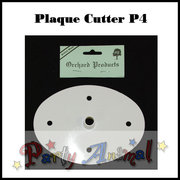 Orchard Products Plaque Cutter P4 LARGE OVAL - 165mm