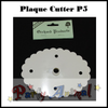 Orchard Products Plaque Cutter P5 LARGE FLUTED OVAL - 165mm