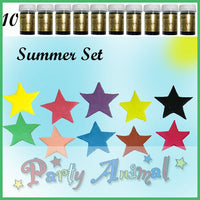 Sugarflair PASTE / GEL Food Colours - SUMMER - Set of 10