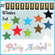 Sugarflair PASTE / GEL Food Colours - WINTER - Set of 10