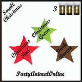 Sugarflair PASTE / GEL Food Colours - CHRISTMAS Set of 3