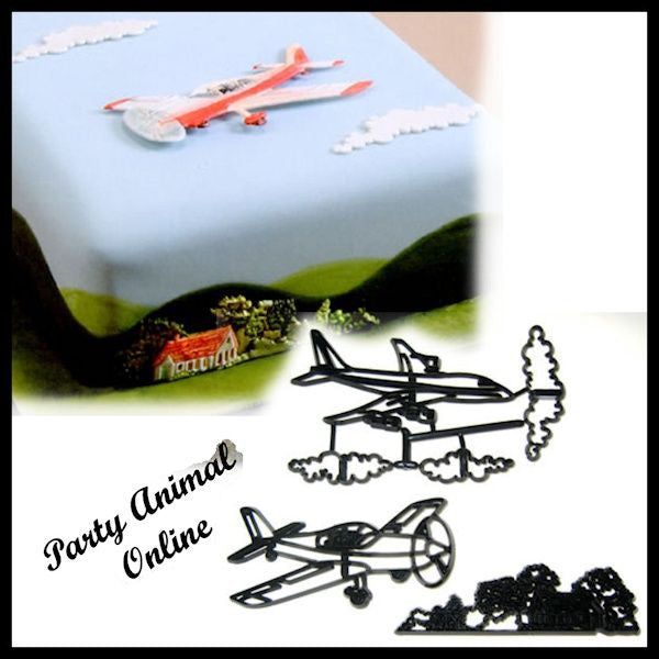 Patchwork Cutters AEROPLANE Set