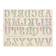 Alphabet Moulds UPPER CASE ALPHABET Sugarcraft Mould