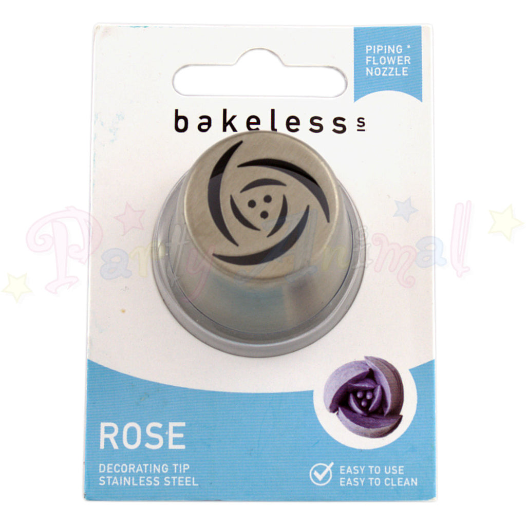 Bakeless Flower Piping Nozzle - Rose