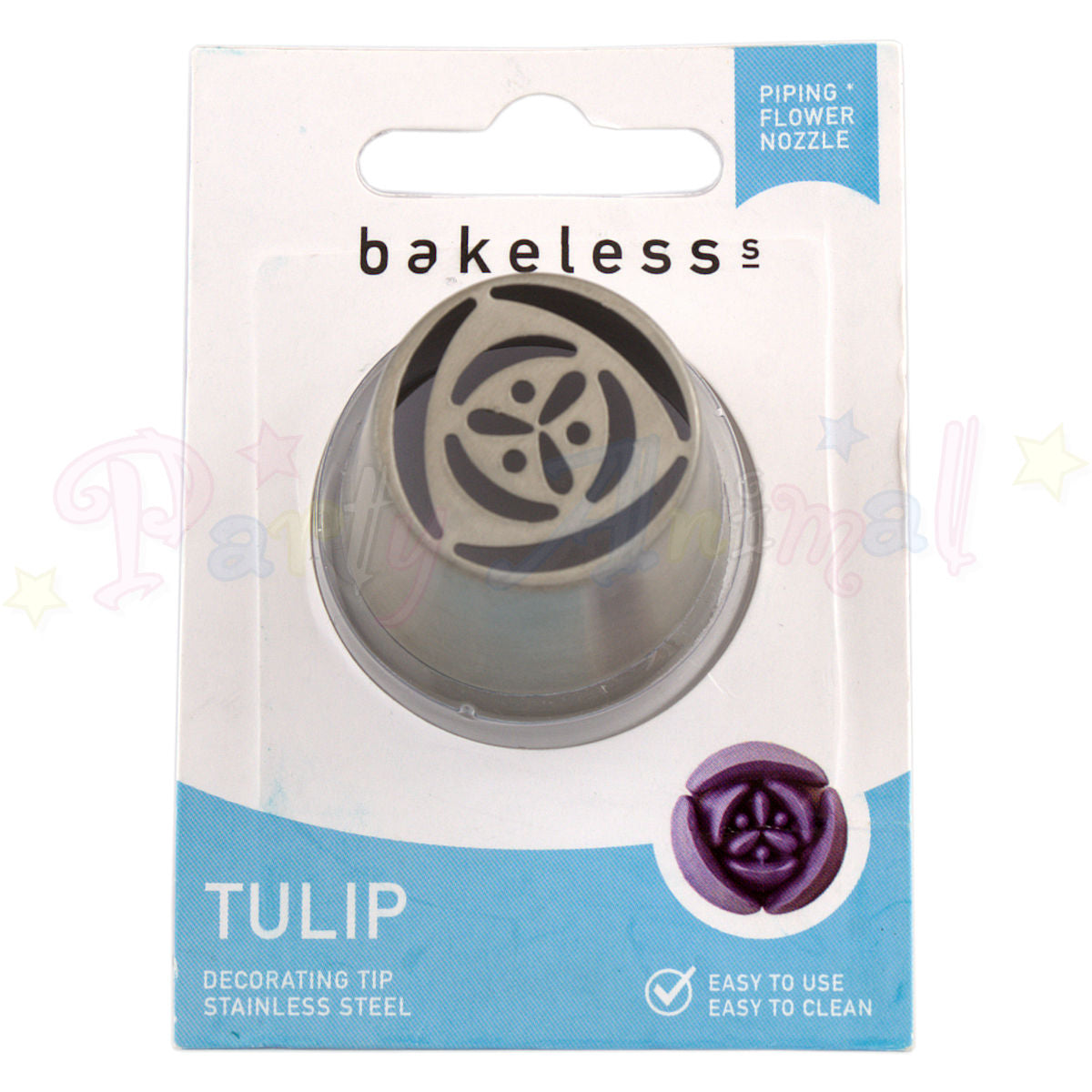 Bakeless Flower Piping Nozzle - Tulip