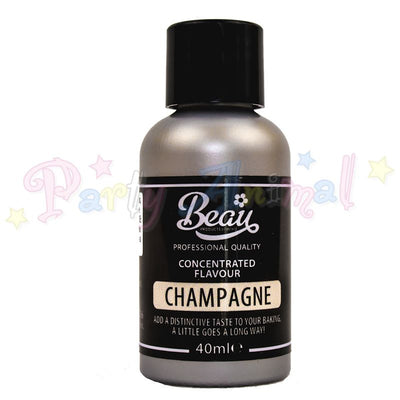 Beau Products CHAMPAGNE Food Flavouring