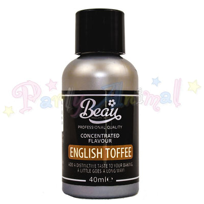 Beau Products ENGLISH TOFFEE Food Flavouring