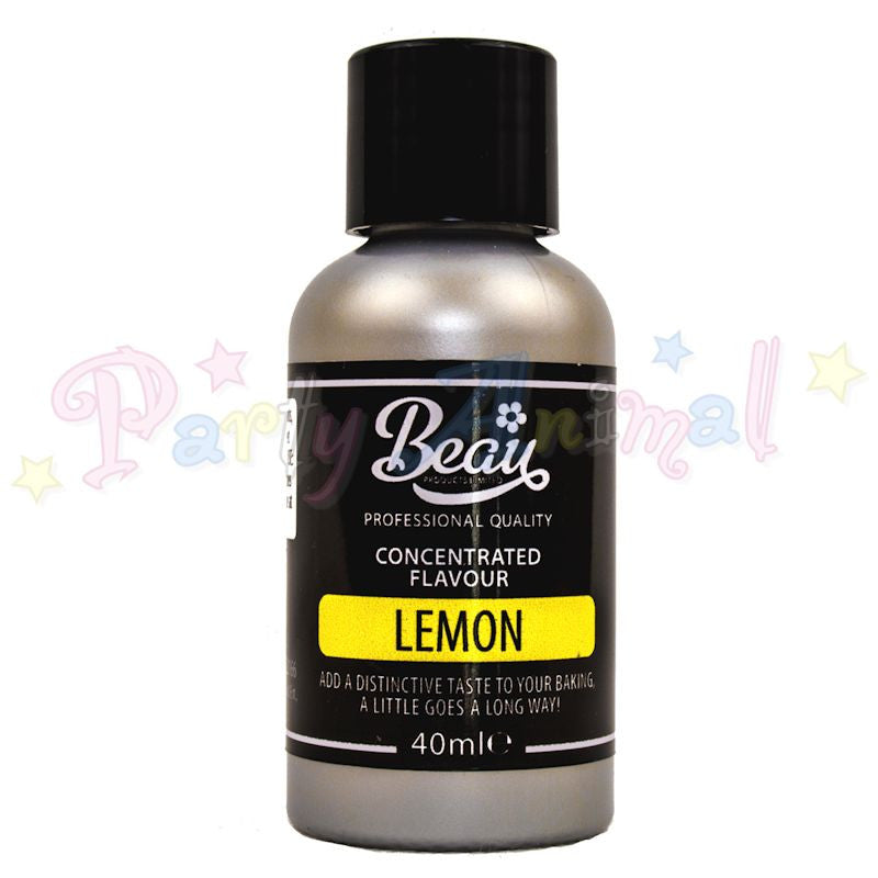 Beau Products LEMON Food Flavouring