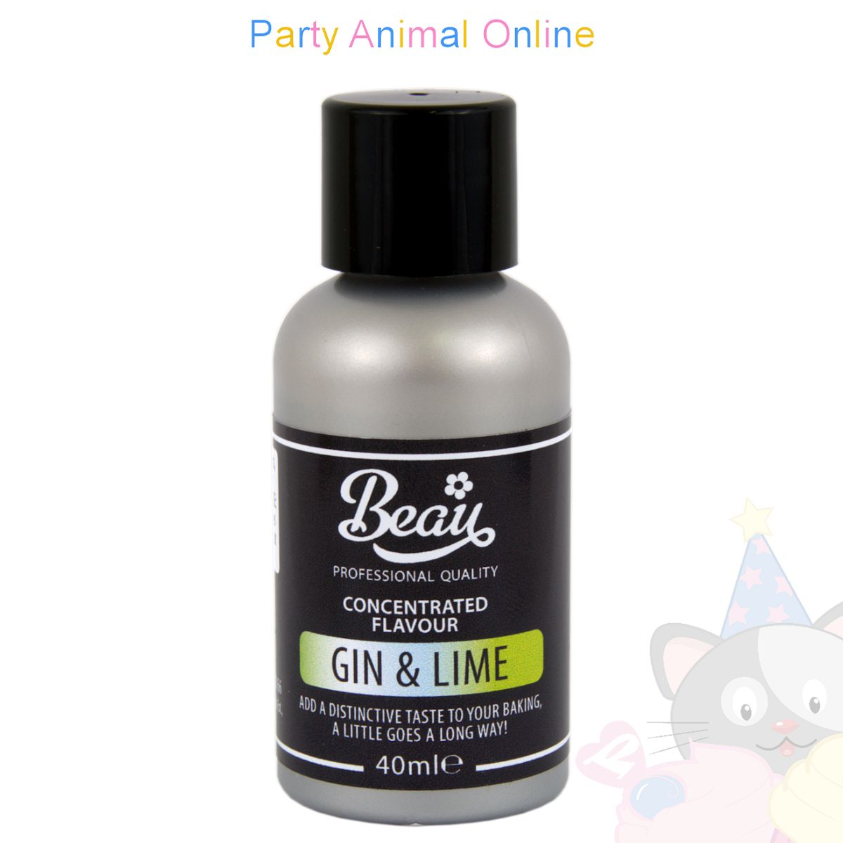 Beau Products GIN & LIME Food Flavouring