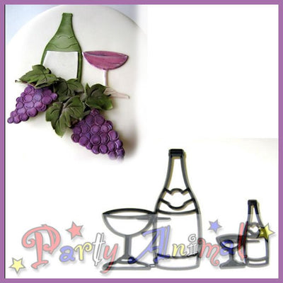 Patchwork Cutters BOTTLE AND GLASS