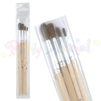 Cake Decoration Brushes - Set Of 4