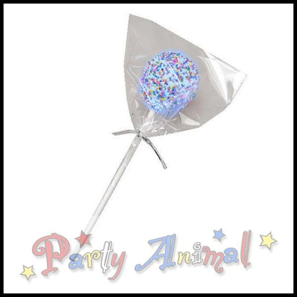 Cake Pop Set - Clear Bags, Ties and Sticks - approx. 50/pack