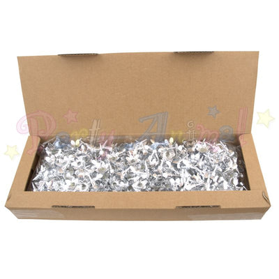 Candle Holders - Silver - 500 Bulk Pack