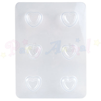 Chocolate Sweet Moulds - Hearts - 6 impressions