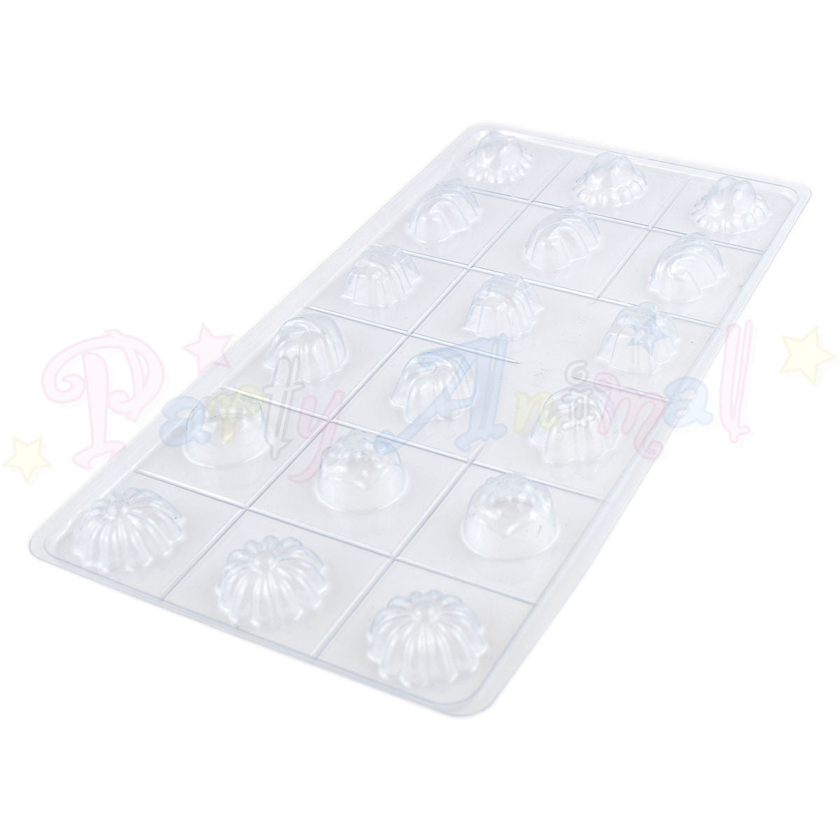 Chocolate Sweet Moulds - Fondant Moulds - 18 impressions