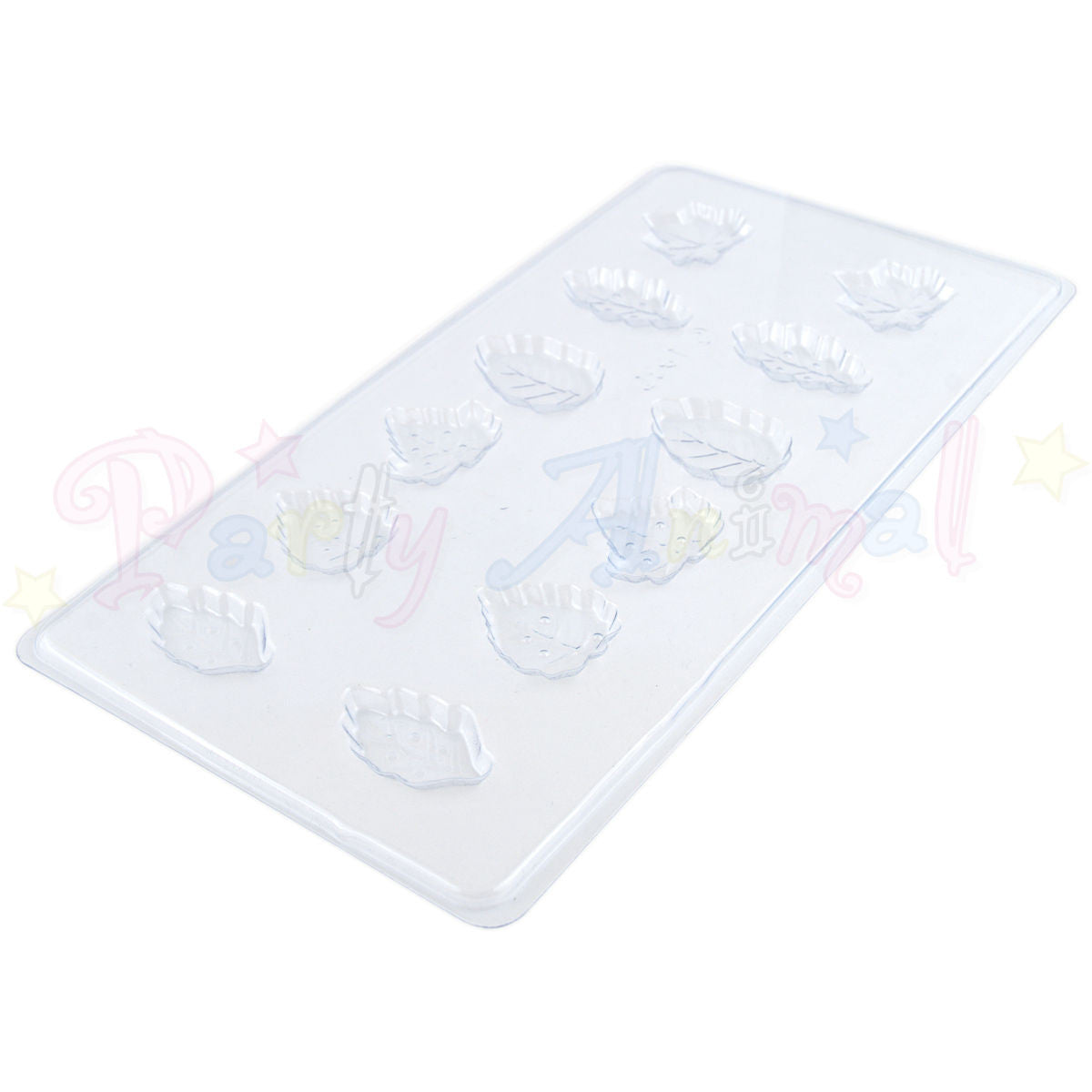 Chocolate Sweet Moulds - Leaf Moulds - 12 impressions