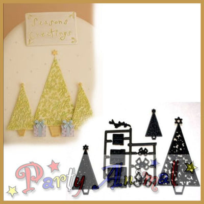 Patchwork Cutters CHRISTMAS TREE AND PARCELS