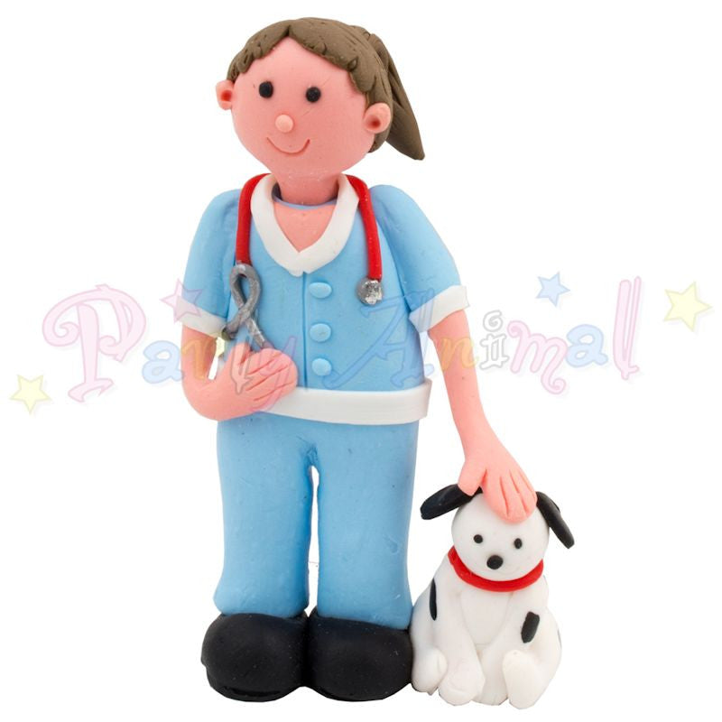 Claydough Cake Figure - Vet