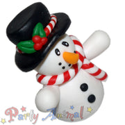 Claydough Christmas  Figure - Snowman & Top Hat