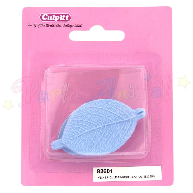Culpitt Double Veiner - Rose Leaf - Large - 48 x 25mm