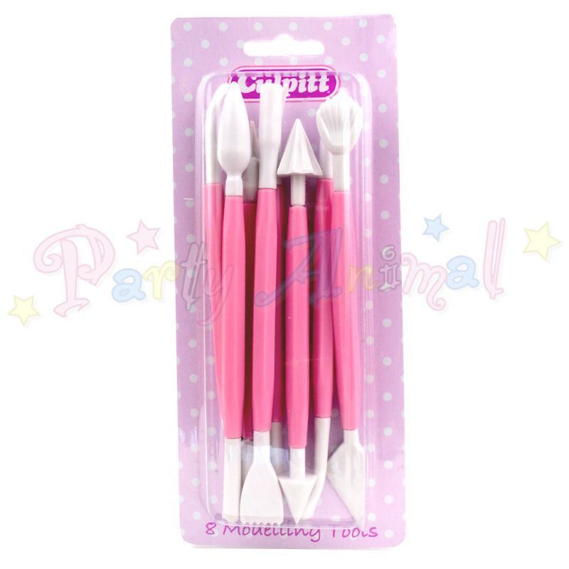 Culpitt Equipment - Modeling Tools Set of 8 (PINK)