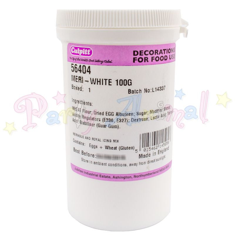 Meri-White Royal Icing / Meringue Mix 100g